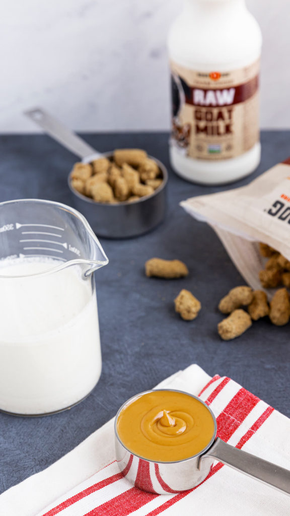 Peanut Butter Goat Milk Freezes